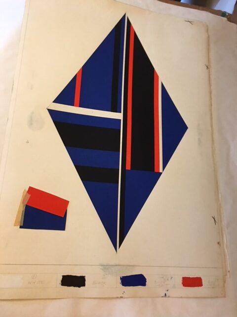 Ilya Bolotowsky print for Contemporary Artists