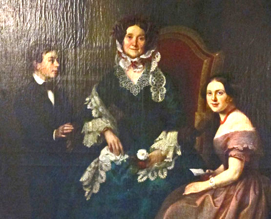 Portrait of Eliza Jumel